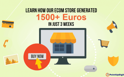Learn How an Ecom Store Generated 1500+ Euros in 3 Weeks